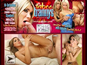 Welcome to Taboo Trannys! Cum Inside And See Why Trannys Are The Best Of Both Worlds!
