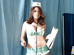 Nurse Kianna Will Drain You Dry Now