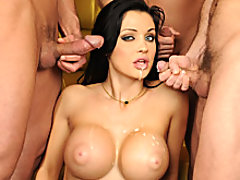 Two big cocks is not enough for Aletta Ocean